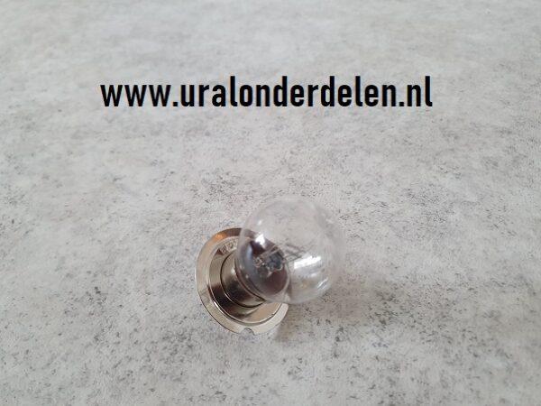 koplamp 6v 32/21w Russisch model lamp met rand ural dnepr k750 m72