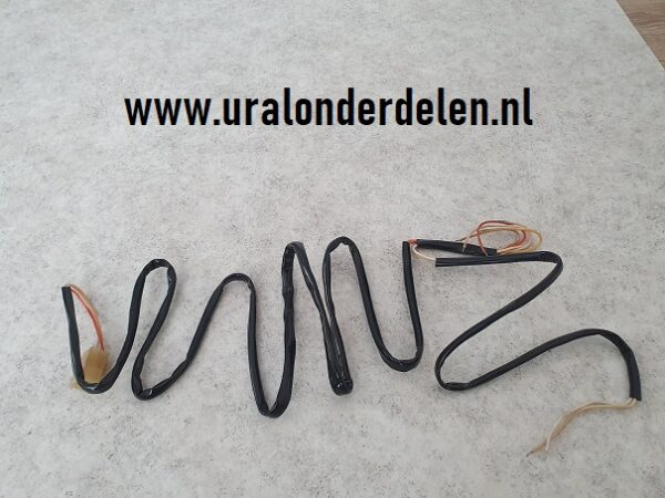Bedrading Ural en Dnepr zijspan
