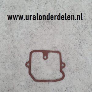 Vlotterkamer pakking K63 K65 carburateur www.uralonderdelen.nl