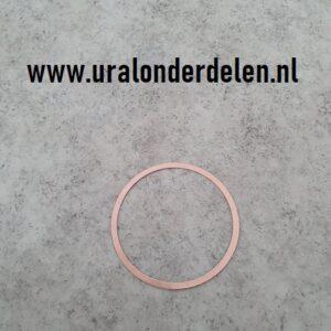 Koperen koppakking Dnepr MT koper www.uralonderdelen.nl