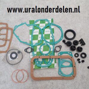 Pakking en keering set Dnepr www.uralonderdelen.nl