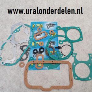 Pakking en keering set K750 www.uralonderdelen.nl