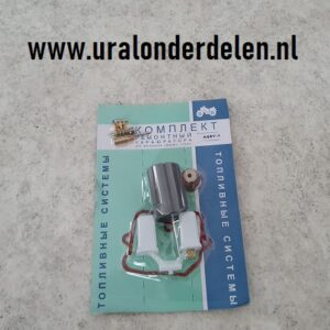 Reparatiesetje voor K68Y-1 rechter carburateur www.uralonderdelen.nl
