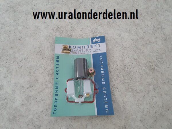 reparatiesetje voor K68Y links carburateur www.uralonderdelen.nl