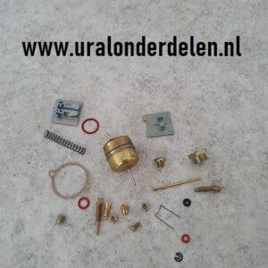 Revisiesetje voor carburateur K301 en K302 www.uralonderdelen.nl