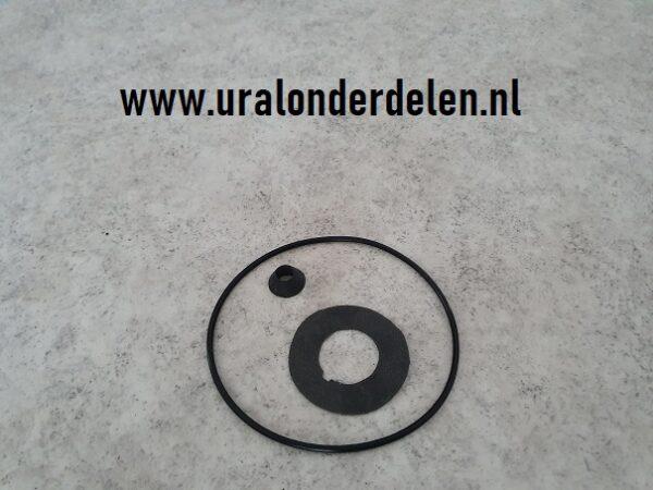 Pakking en O-ring set centrifugaal olie filter Dnepr MT www.uralonderdelen.nl