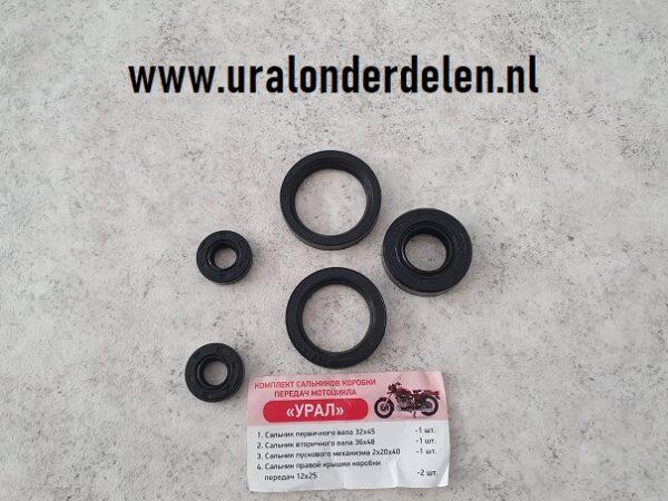 Keerring set versnellingsbak Ural www.uralonderdelen.nl