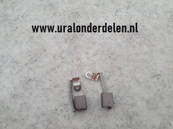 Koolborstels voor 6 Volt dynamo G-414 ural dnepr k750