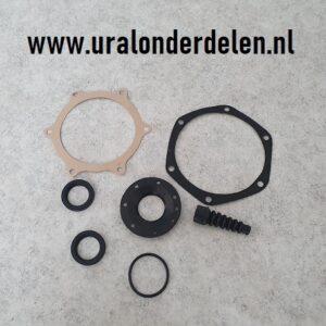 Pakking en keerringen set cardan Dnepr MT12 en MT16 www.uralonderdelen.nl