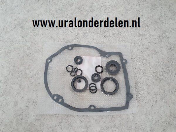 Pakking en keerringen set versnellingsbak Ural www.uralonderdelen.nl
