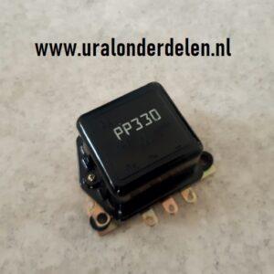 pp330 regulator spanningsregelaar 12 volt ural dneper